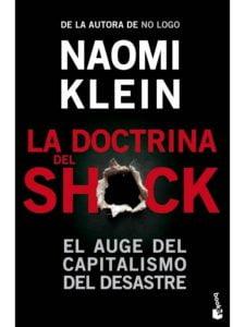 Imagen portada del libro La Doctrina del Shock de Naomi Klein