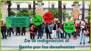 Imagen con foto stop desahucios
