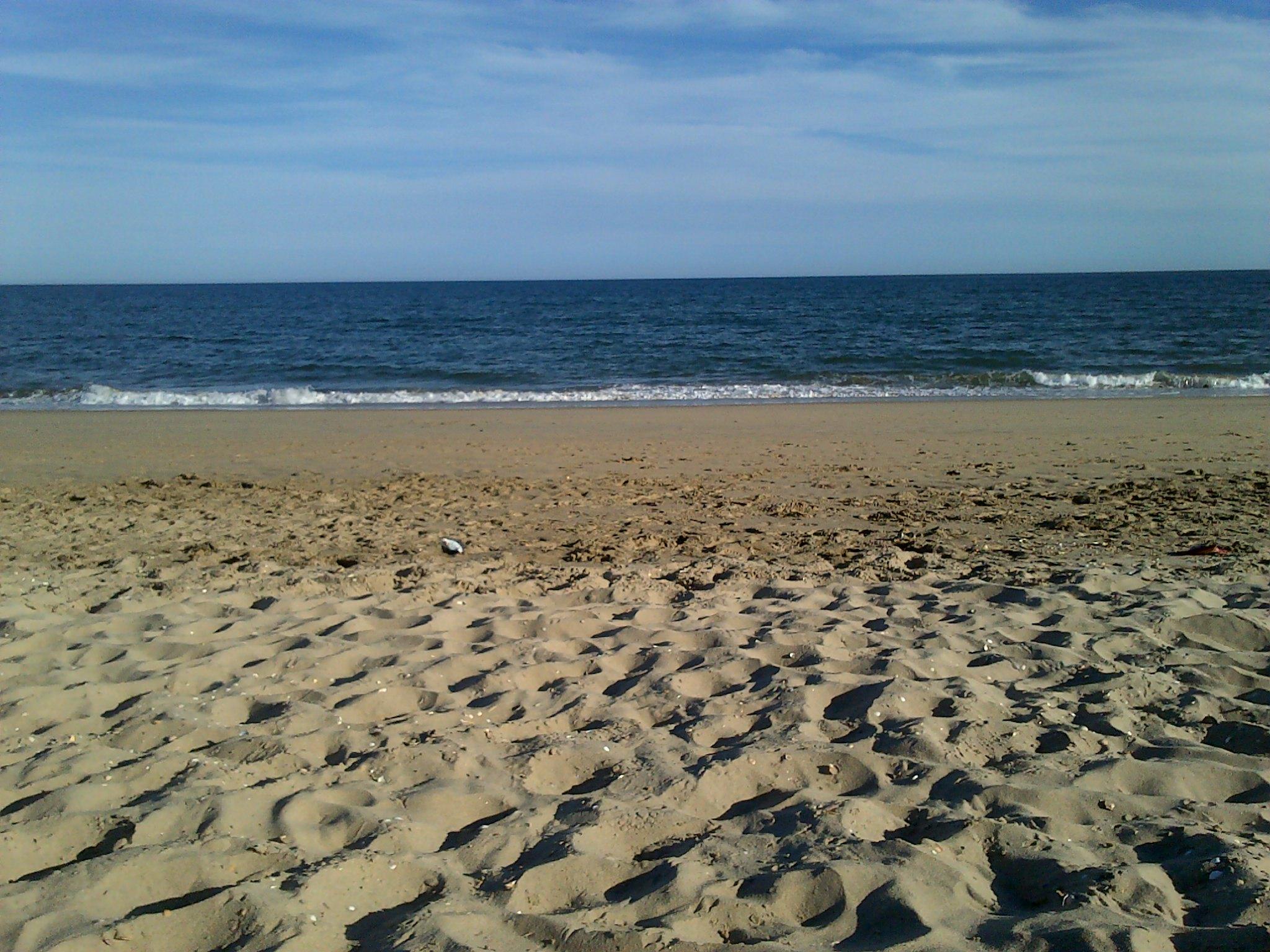 Playa Isla Cristina en primavera
