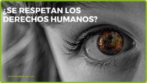 Imagen sobre si los derechos humanos se respetan