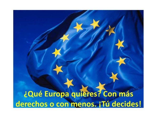 Derechos perdidos en la Unión Europea. ¿Te importan?