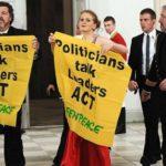 """¡El cambio climático! """"los políticos hablan, los líderes actúan."""""""