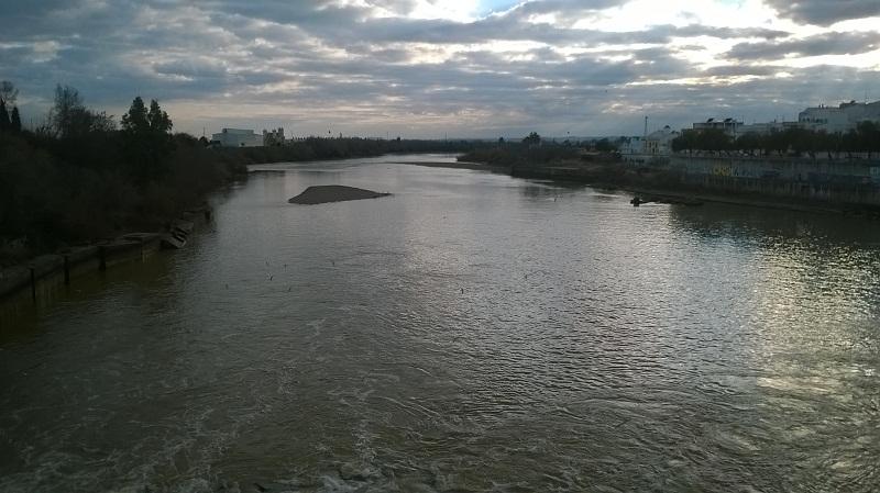 El Río Guadalquivir poe Alcalá del Río