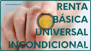 Imagen portada renta básica universal e incondicional