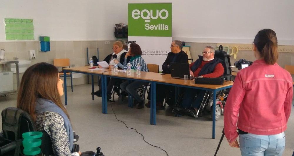 Foto de la jornada de formación sobre ecología política y diversidad funcional