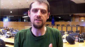 Florent Marcellesi en el Parlamento Europeo. Ecología Política