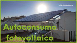 Imagen autoconsumo fotovoltaico en casa