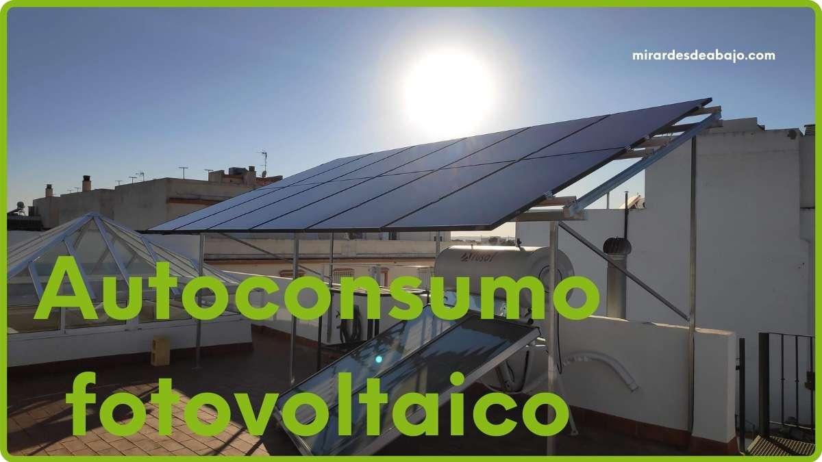 Autoconsumo fotovoltaico: un año con energía renovable en casa