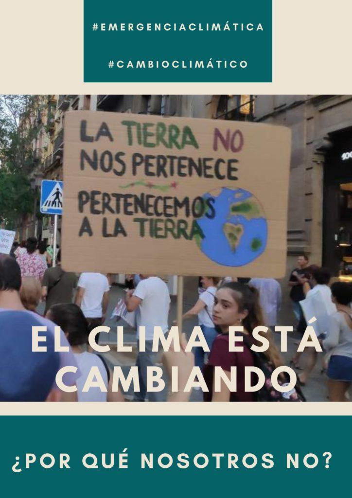 cambio climatico y tu por que no cambias
