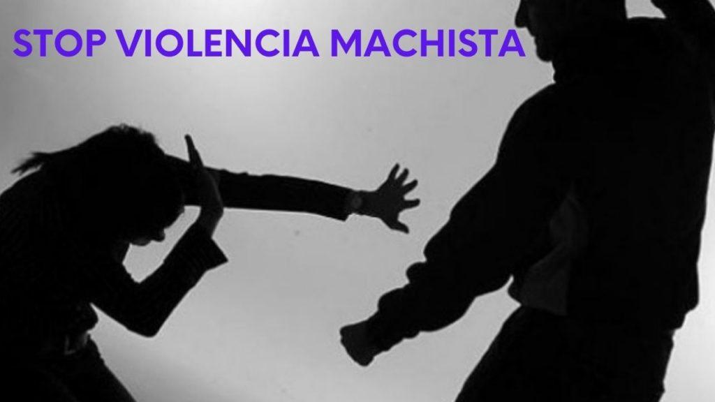 Imagen stop violencia machista