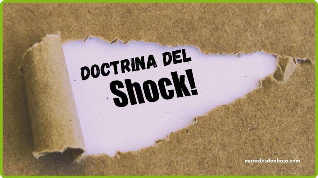 Imagen la doctrina del shock