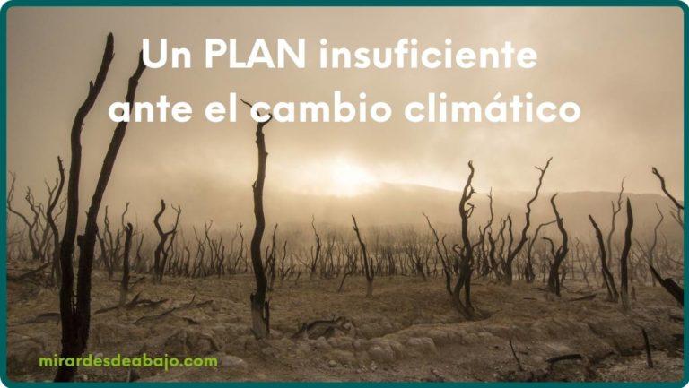 Imagen plan 2050 insuficiente ante el cambio climático
