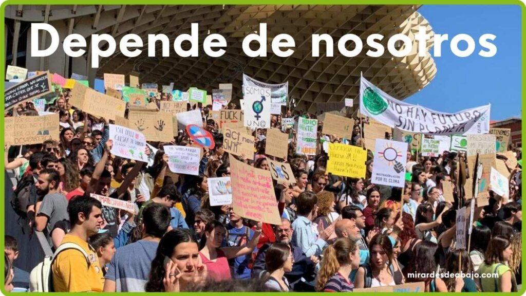 Imagen depende de nosotros luchar frente al cambio climático en Europa